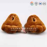 Cute Animal Shaped Plush Baby Shoes ,warm Baby Shoes, Winter Baby Shoes