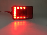 Car accessories led the rear bumper lamp for jeep wrangler jk