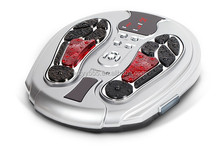 Tens ems electric muscle stimulator electromagnetic wave pulse foot <strong>massager</strong>