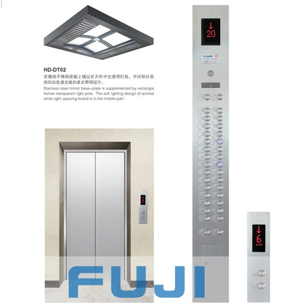 FUJI small building passenger lift elevator price