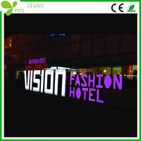 High Bright Waterproof Big Channel Letter Sign