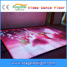 2016 Hot China Factory Outdoor LED Display Video Dance Floor Screen 3D Effect Stage Light For Sale Christmas Disco Party Favors