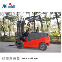 1.5t Four-wheel Electric Forklift With Dual Traction Lifting 6m