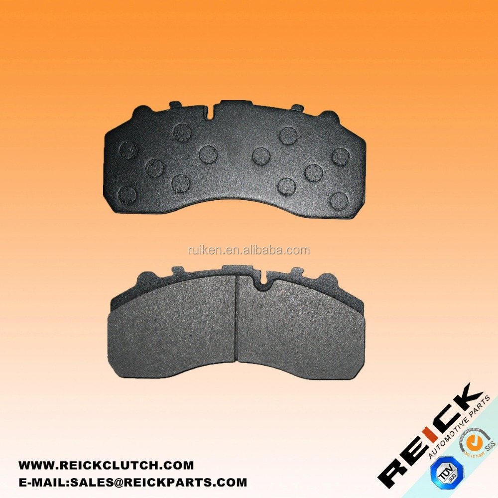 EUROPEAN TRUCK BRAKE PAD 29087 DISC BRAKE PAD SET BACKING PLATE WITH HOLES