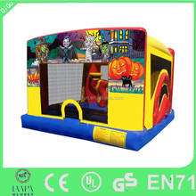Exciting funny inflatable bounce house slide for Christmas