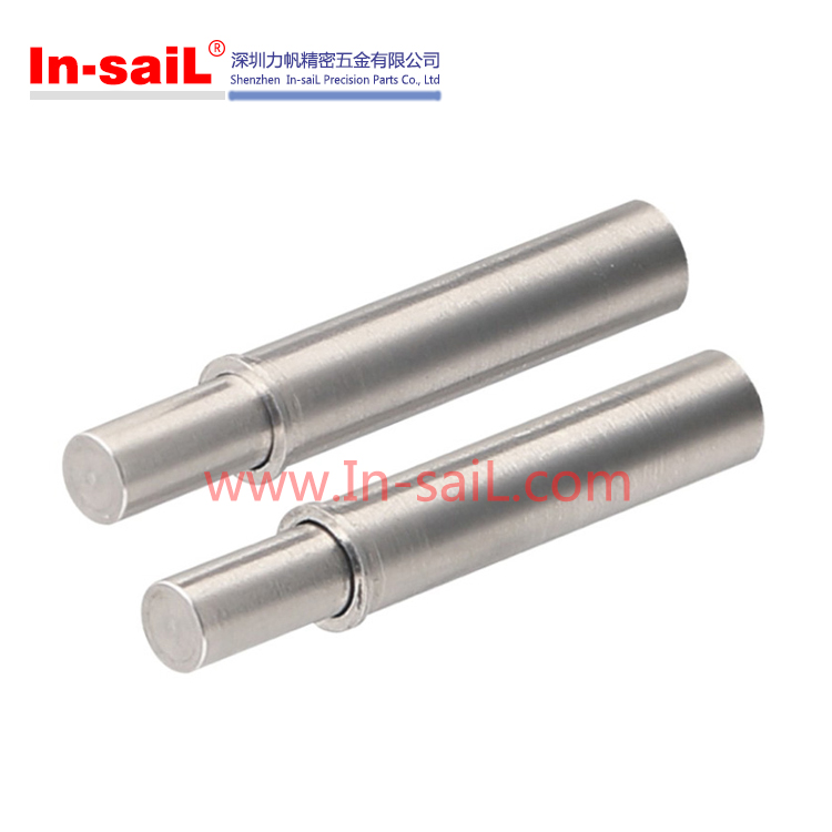 China supplier global service stainless steel press fit spring plunger manufacturer