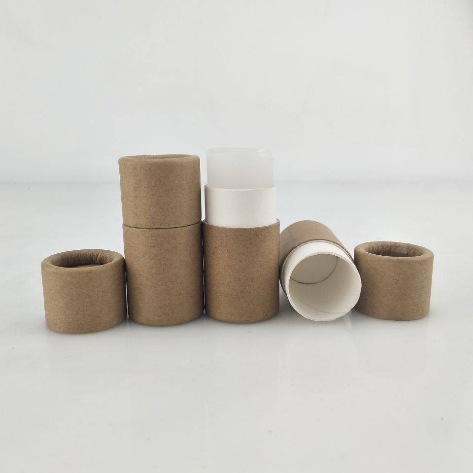 cardboard push up lip balm stick <strong>tube</strong> 7g