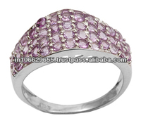 African Amethyst Ring, Gemstone Rings India, Gemstone Rings Online