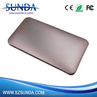 2016 New products mobile recharge 5000mah power bank Aluminum case Power bank for ipone 6