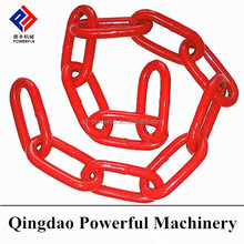 g80 alloy iron link heavy duty long link drag chain