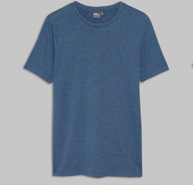 mens clothing 2017 95 cotton 5 spandex fitted plain t-shirt gym t shirts wholesale cheap t shirt online shopping india