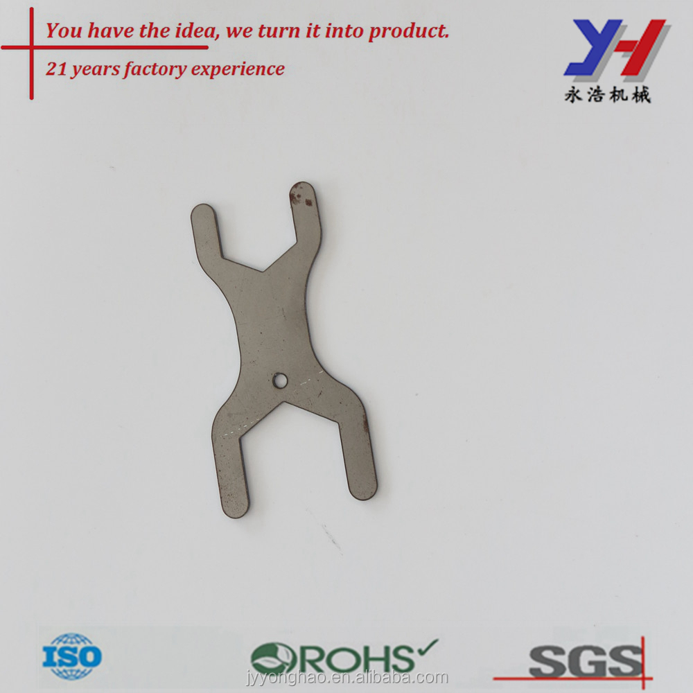 OEM ODM Custom Stamping x carbon steel spanner for pipe