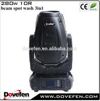 Hot selling 3in1 moving head 280w r10