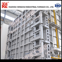 Best seller big trolley type gas annealing furnace for melting metal