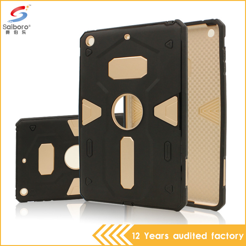 China supplier fashion armor pc tpu hybrid phone accessory for ipad mini 2