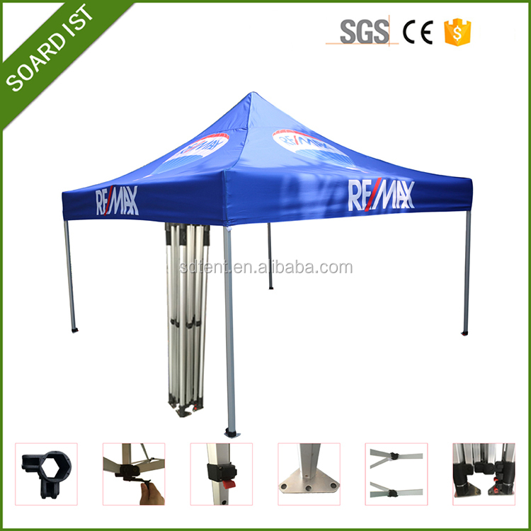 10x10 hight quality advertising large gazebo folding advertising canopy