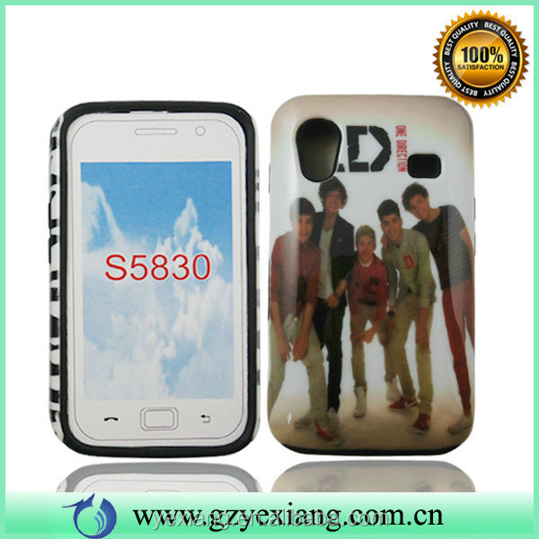 For Samsung Galaxy Ace S5830 Back Cover Case, Handsome Boys Phone Case