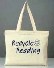 Shopping cotton tote bag