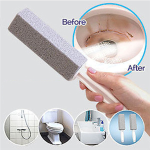 Magic Pumice Natural Stone Toilet Scrubber Heavy Duty Cleaning Stain Remover 1 or 2pcs