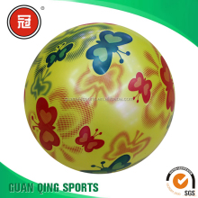 Cartoon PVC Inflatable beach toys ball for kids