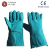 13'' full leather heat resistance gloves welding gloves