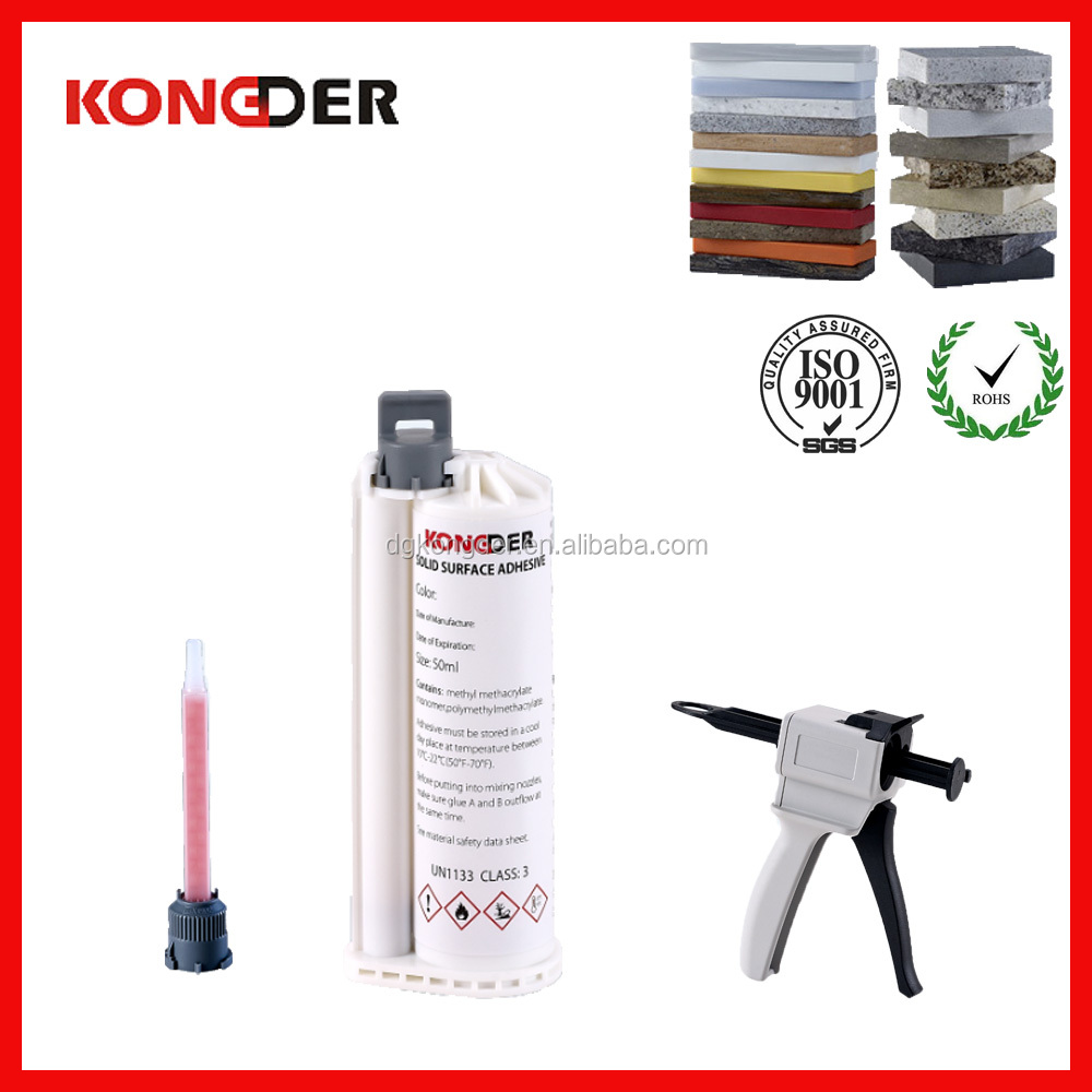 Low price Corian Joint Invisible Adhesive Solid Surface Adhesive