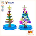 DIY toy, educational toys for kids, magic crystal growing paper for christmas desk decoration