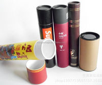 Mailing paper tube packaging for spices and salts/cardboard paper packaging/mailing paper tube