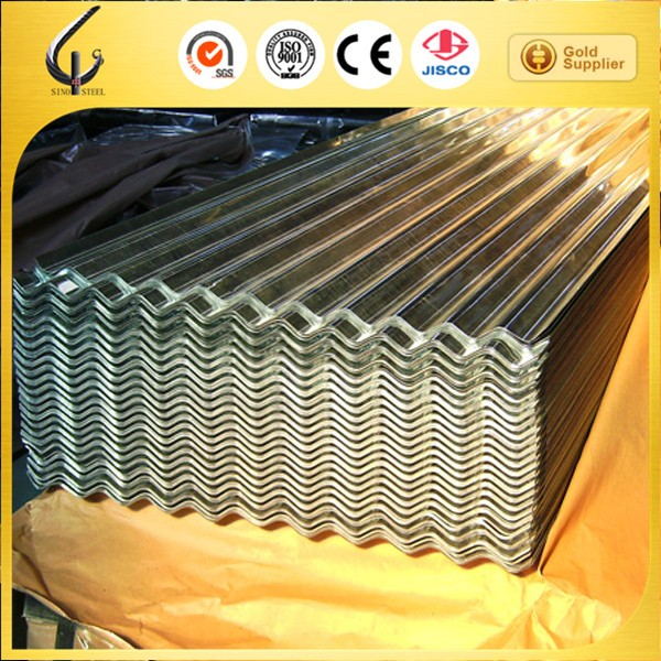 SGCH steel sheet corrugated galvanized plate