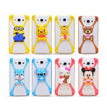 Cheap price cartoon mobile silicion cell phone case for iphone7/7plus