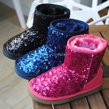 Kids winter boots children warm snow boots with good price