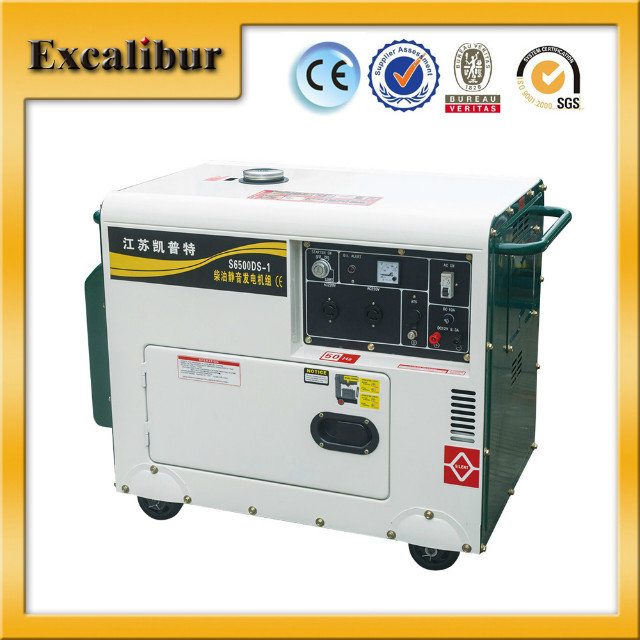 5kw Air Cooled Excalibur Silent Diesel Generator With AVR For Sale