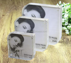 transparent acrylic photo frame,picture/poster holder