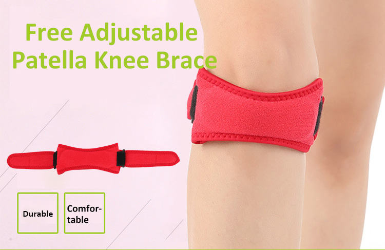ZHIZIN New design professional athletics knee patellar strap patella belt for sports neoprene knee patellar tendon support