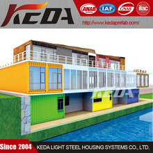 Steel Prefabricated Container Hotel for sale