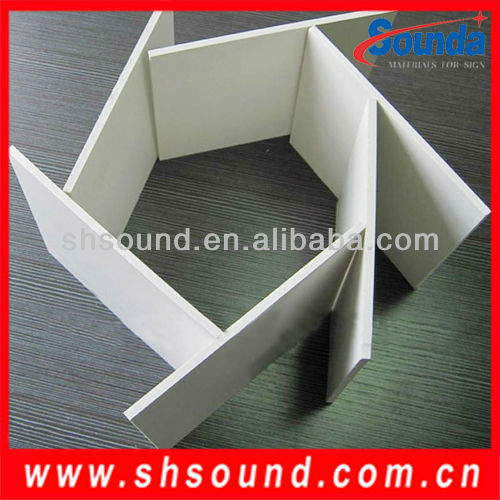 High quality embossed pvc sheet