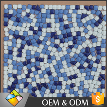 Irregular Pebble Glass Swimming Pool Tiles