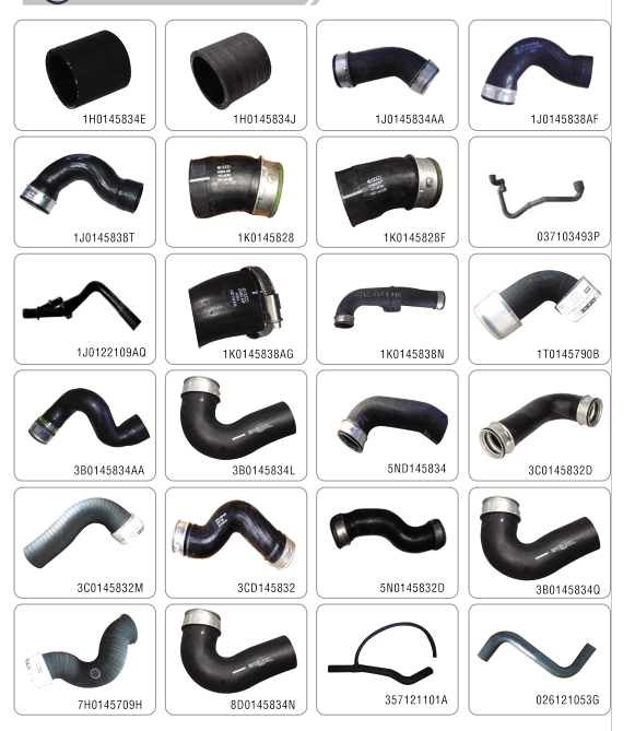 Exact size black flexible epdm radiator hose 16571-0C080 for auto spare parts