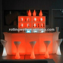 multitouch interactive bar table /dry bar table / portable glow bar