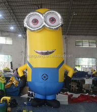 attractive cartoon inflatable minions