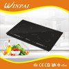 A grade black crystal plate national 2 burners multifuction induction and infrared cooker