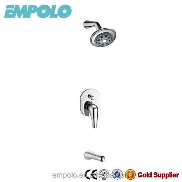 Empolo New Rain Shower Set with Shower Valve 06 3702