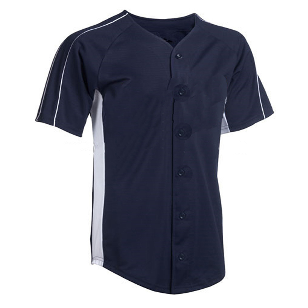 hot blank baseball jersey wholesale