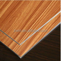 exterior wood wall cladding aluminum composite panel