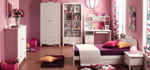 classic italian Style provincial bedroom furniture set for Pink Bedroom