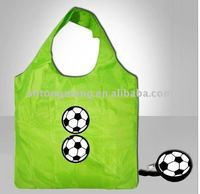 New style 210T polyester foldable ball shaped shopping bags