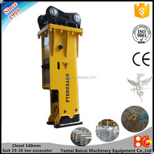 YLB1400 140mm chisel concrete breaker machine rent price