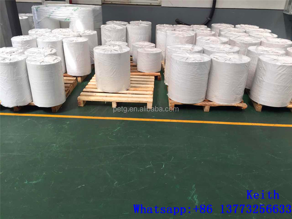MINYANG Extruded plastic 0.5mm super clear pet sheet , pet sheet roll for thermoforming , pet sheet for packaging
