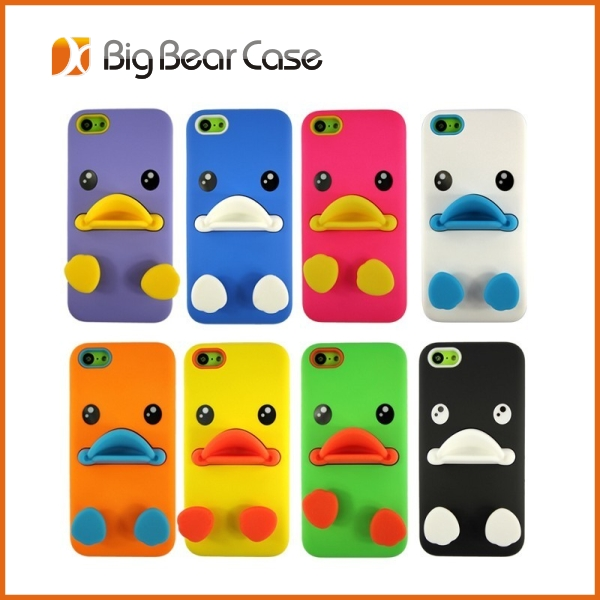 Best selling silicone 3d cell phone case for iphone and samsung