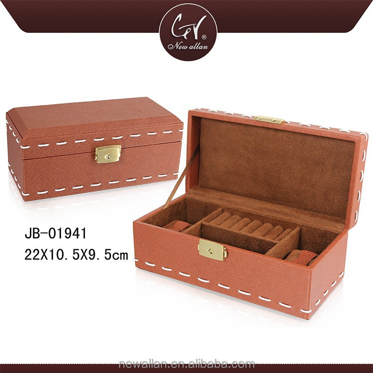 Hot Sale Factory Price Smooth Leather Watch Case